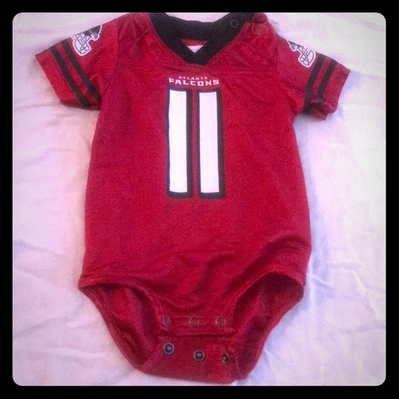 best sneakers 5be7a cc287 6-9 month ATLANTA FALCONS JERSEY ONESIE !